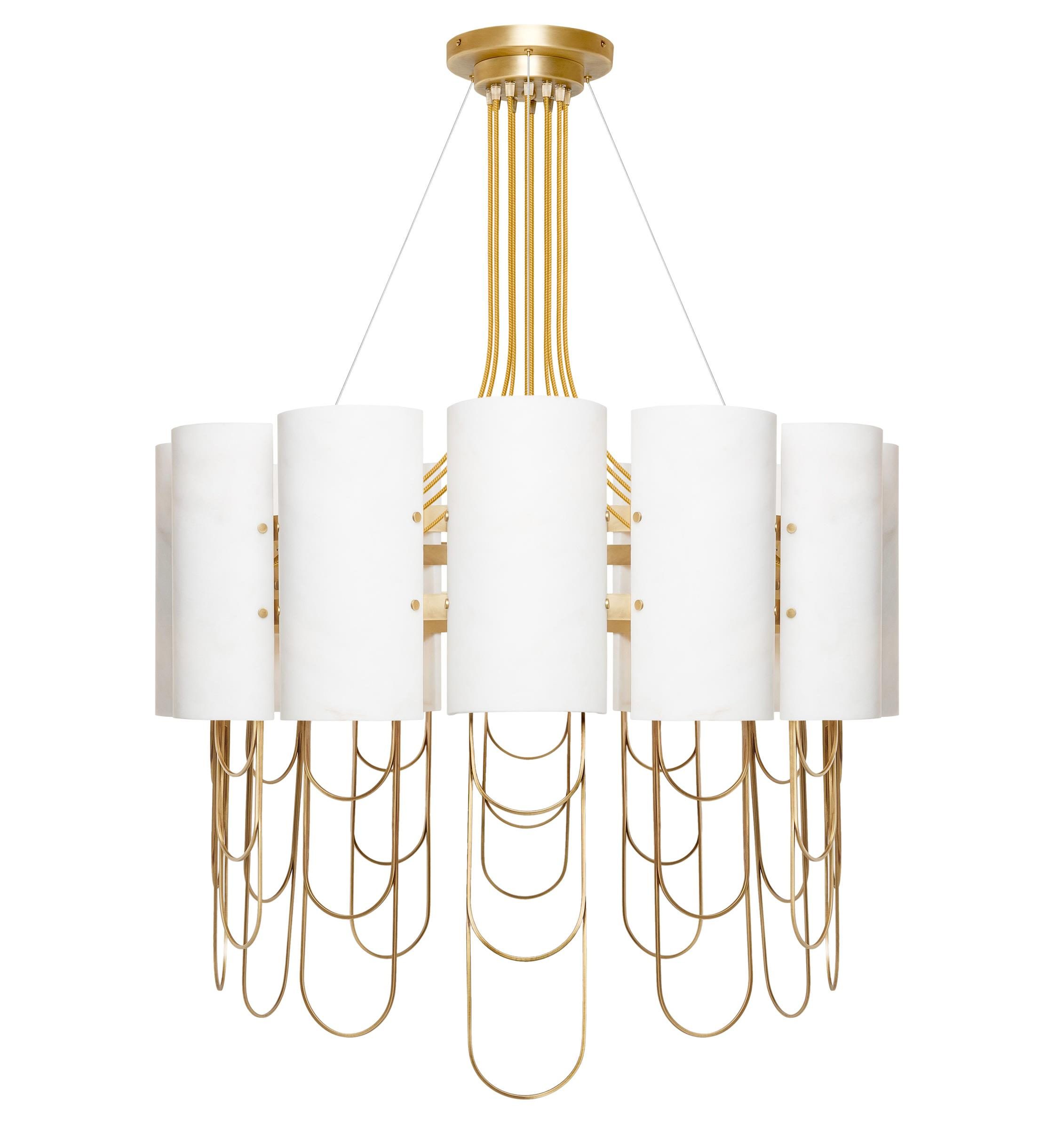 Niagara suspension lamp ginger jagger inspired by for Suspension 4 lampes