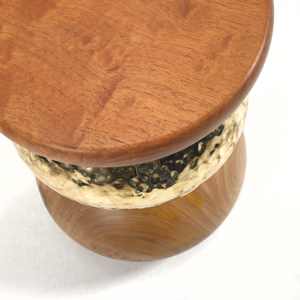 Detail of the Pebble | Stool/Side Table.