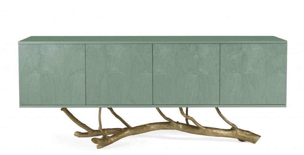 Ginger & Jagger's Magnolia Sideboard in Miosotis wood veneer.