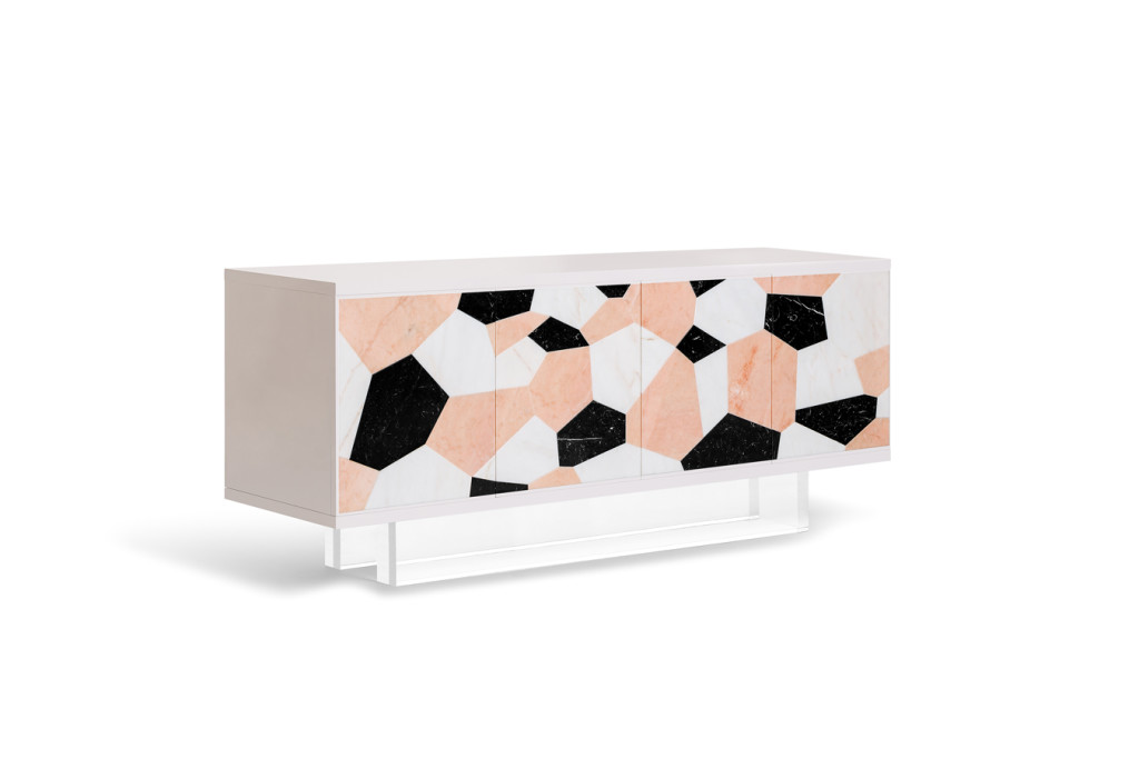 View of the Fractal   Sideboard