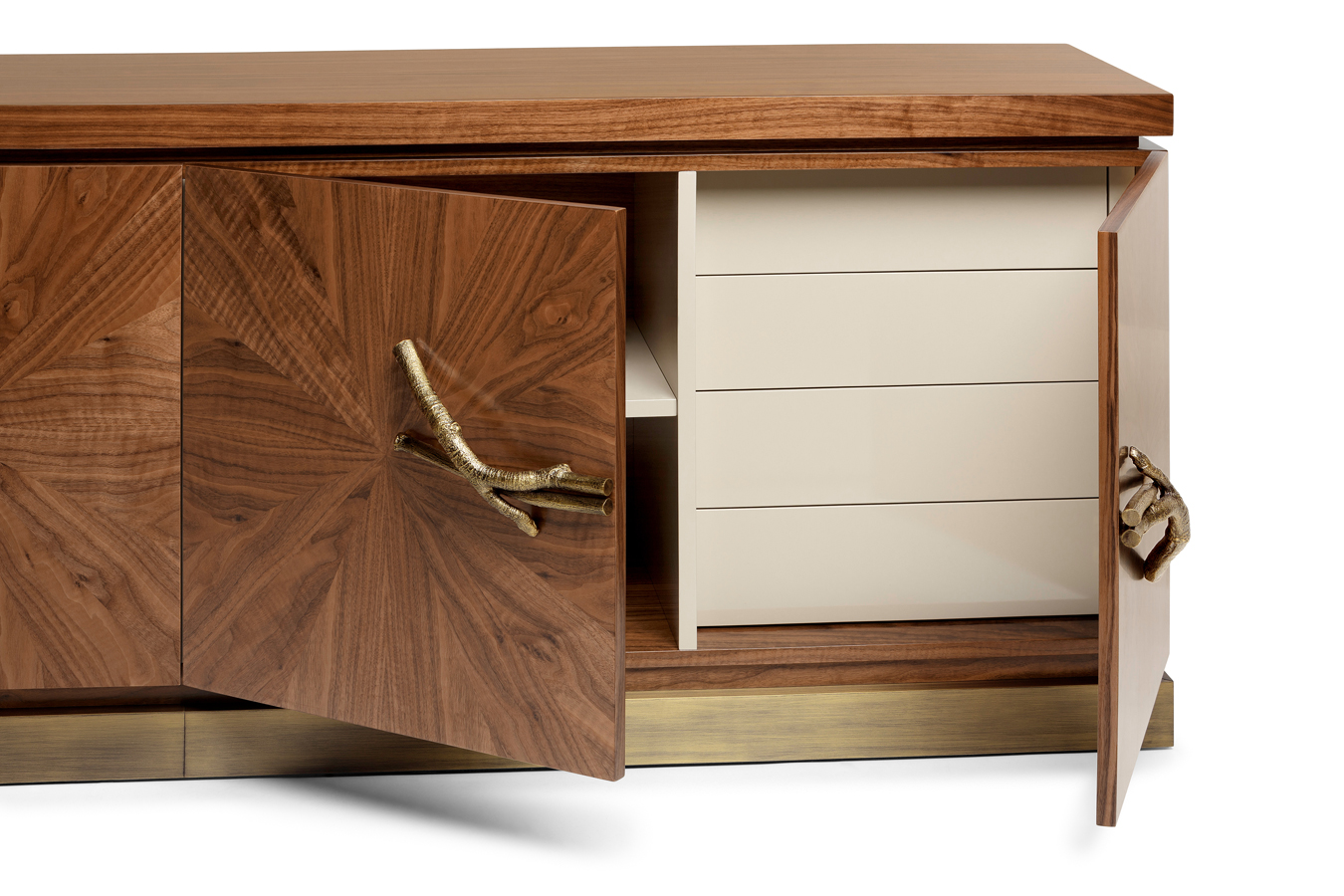 Sideboard Walnuss walnut sideboard jagger
