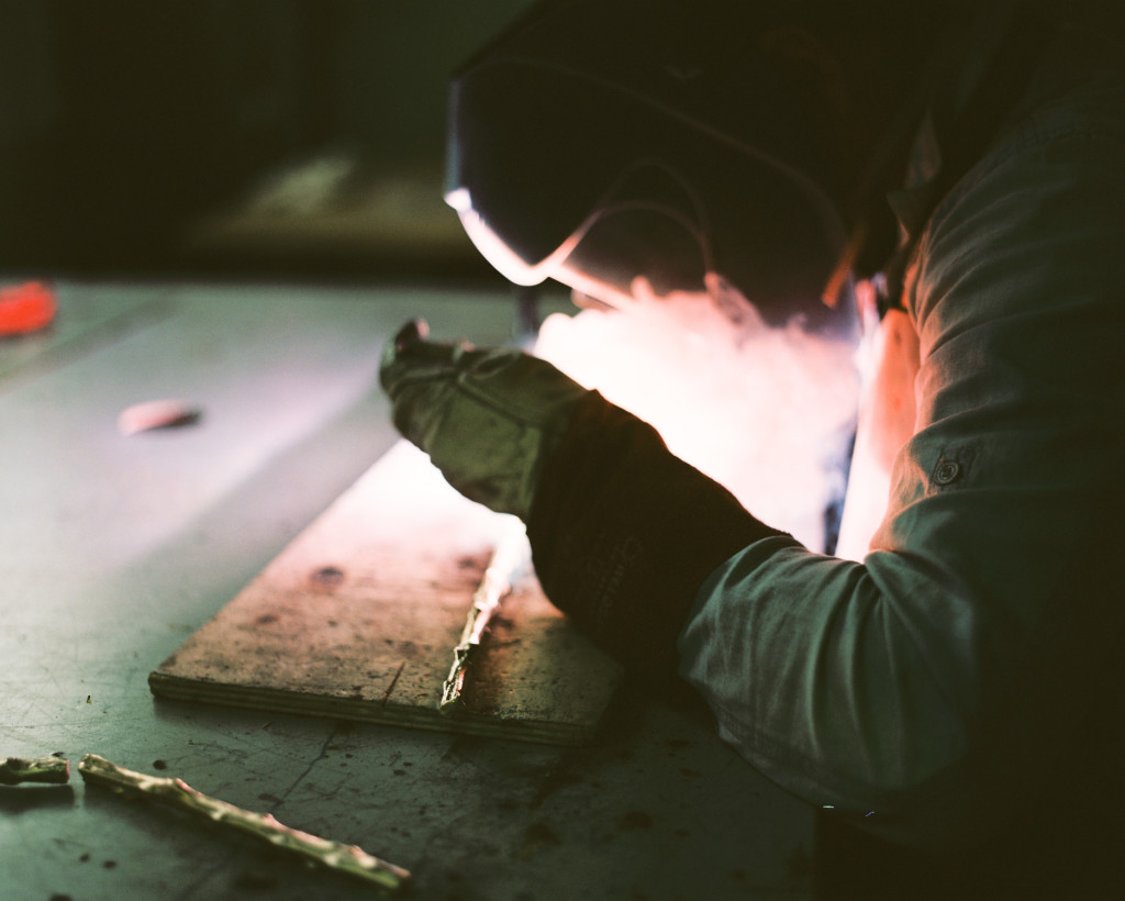 The Fig Tree   Console, being crafted by our artisans.