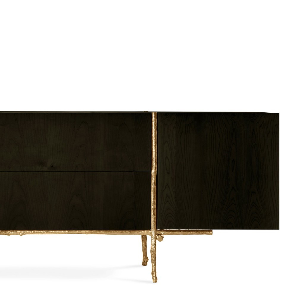 A detail of the new Ginger & Jagger Bosque Sideboard.